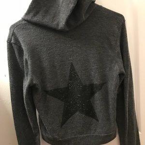 Vintage Havana grey sweatshirt with star on back⭐️